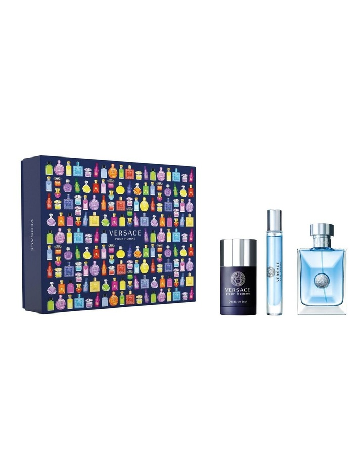 Versace Pour Homme Edt 100ml  Deo Stick 75ml  Travel Spray 10Ml image 1