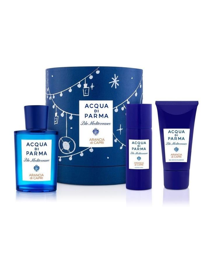 Blu Mediterraneo Arancia di Capri Eau de Toilette Christmas Gift Set image 1