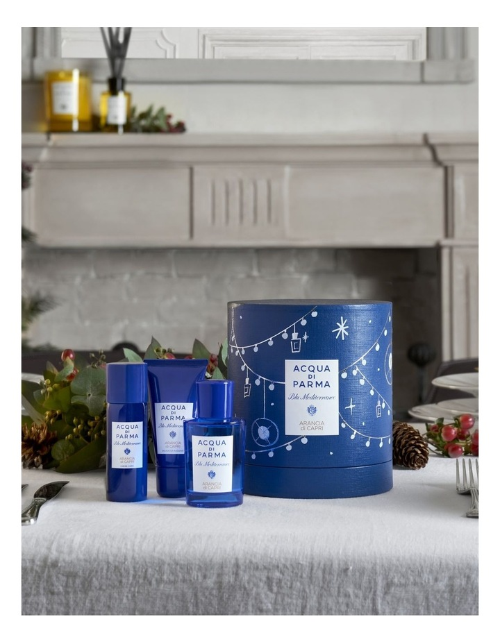 Blu Mediterraneo Arancia di Capri Eau de Toilette Christmas Gift Set image 2