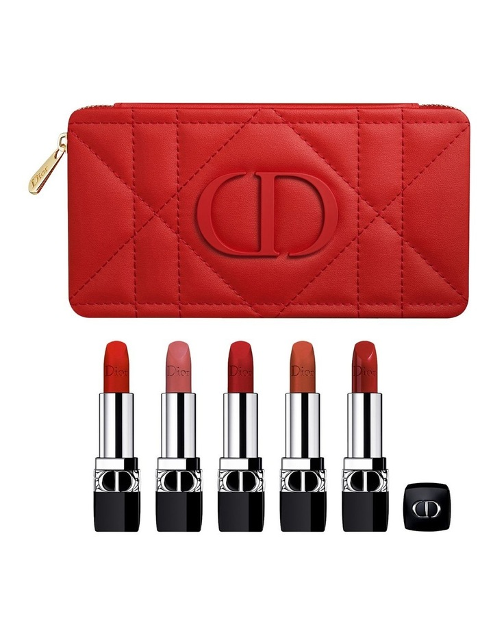 Rouge Dior Refillable Lipstick Collection - Couture Color & Floral Lip Care - Long Wear image 1