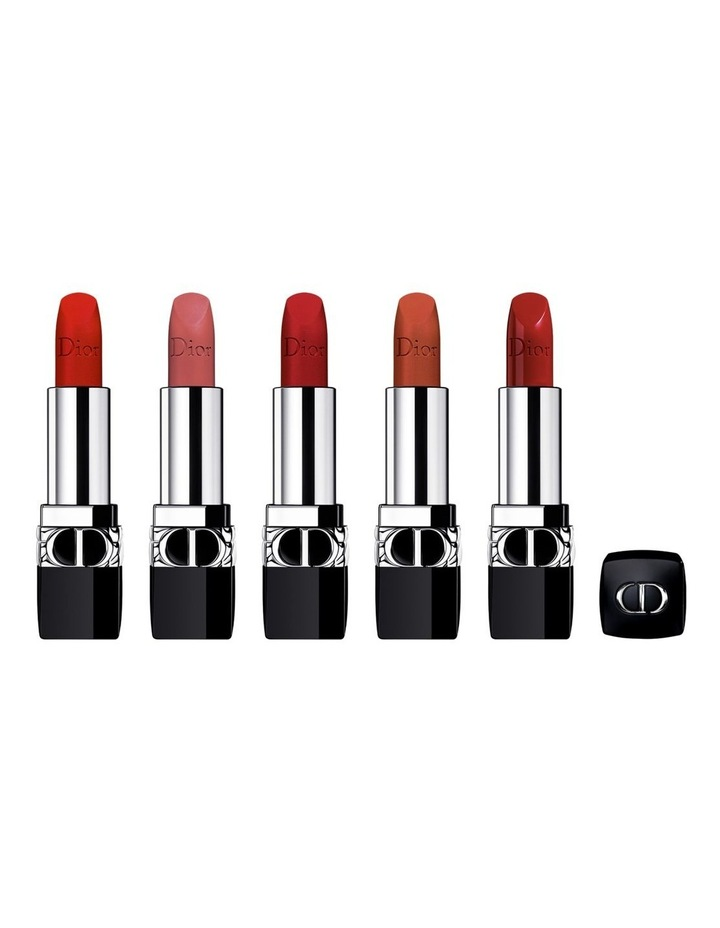 Rouge Dior Refillable Lipstick Collection - Couture Color & Floral Lip Care - Long Wear image 2