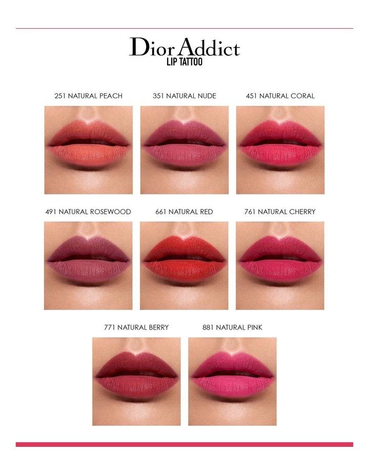 Dior Lip Tattoo image 5