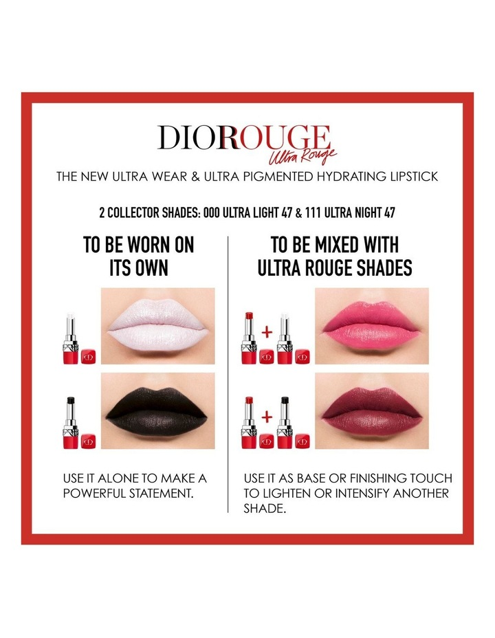 Rouge Dior Ultra Rouge Lipstick image 4