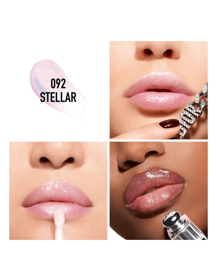 Dior Addict Stellar Gloss Balm Lip Gloss - Plumping Shine - 24h Hydration image 2