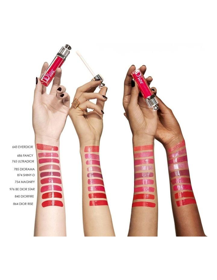 Dior Addict Stellar Gloss Balm Lip Gloss - Plumping Shine - 24h Hydration image 3