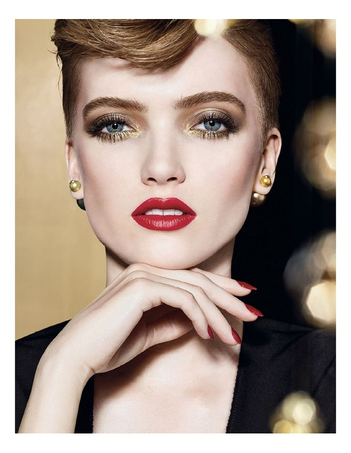 Diorific - Golden Nights Collection Limited Edition Sparkling Lipstick - True Color & Long-Wearing image 3