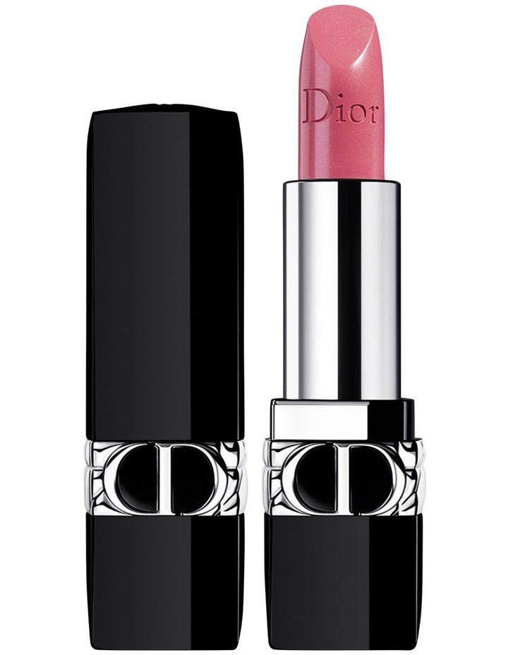 Rouge Dior Couture Colour Refillable Lipstick - 4 Finishes: Satin, Matte, Metallic and Velvet - Floral Lip Care image 1