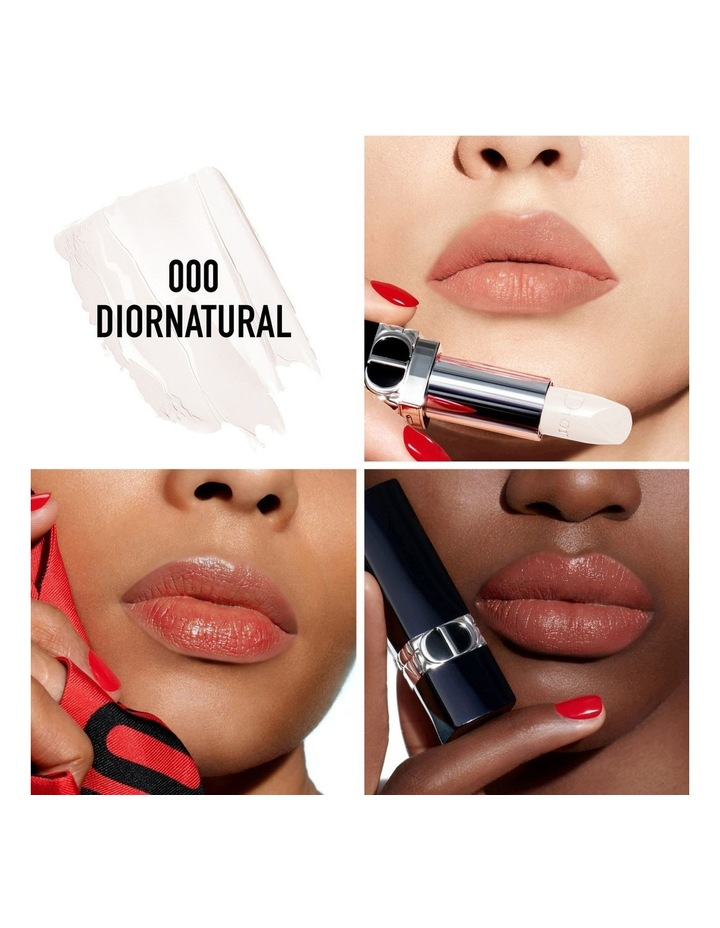 Rouge Dior Floral Care Lip Balm - Natural Couture Color - Refillable image 4