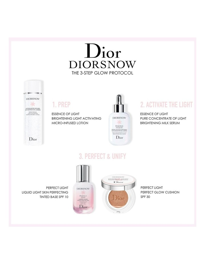 Diorsnow Perfect Light - Liquid Light Skin Perfecting Tinted Base SPF10 image 3