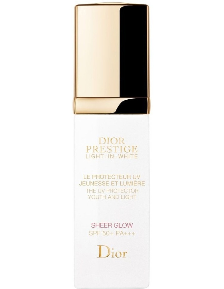 Dior Prestige Light-in-White The UV Protector Youth And Light - Sheer Glow SPF 50+ PA++ image 1