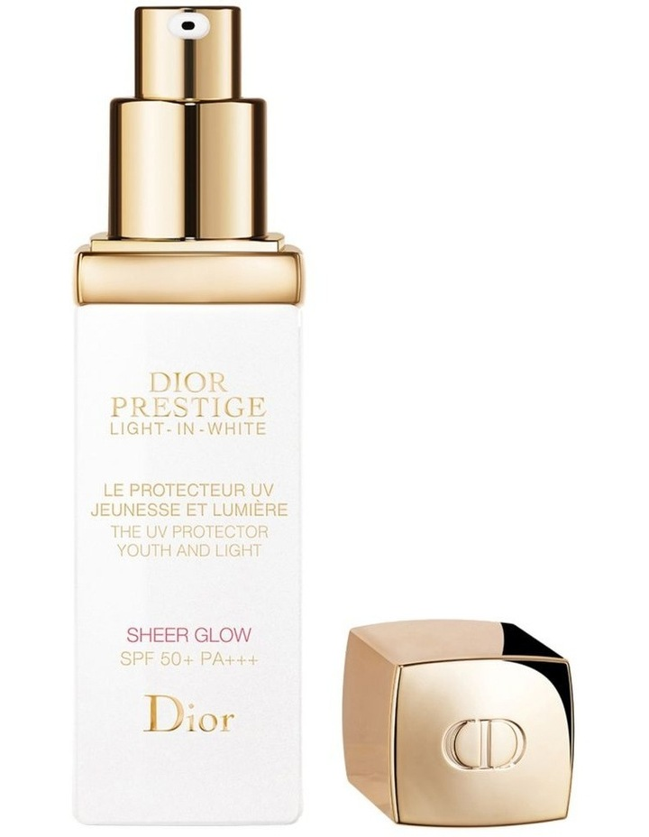 Dior Prestige Light-in-White The UV Protector Youth And Light - Sheer Glow SPF 50+ PA++ image 2