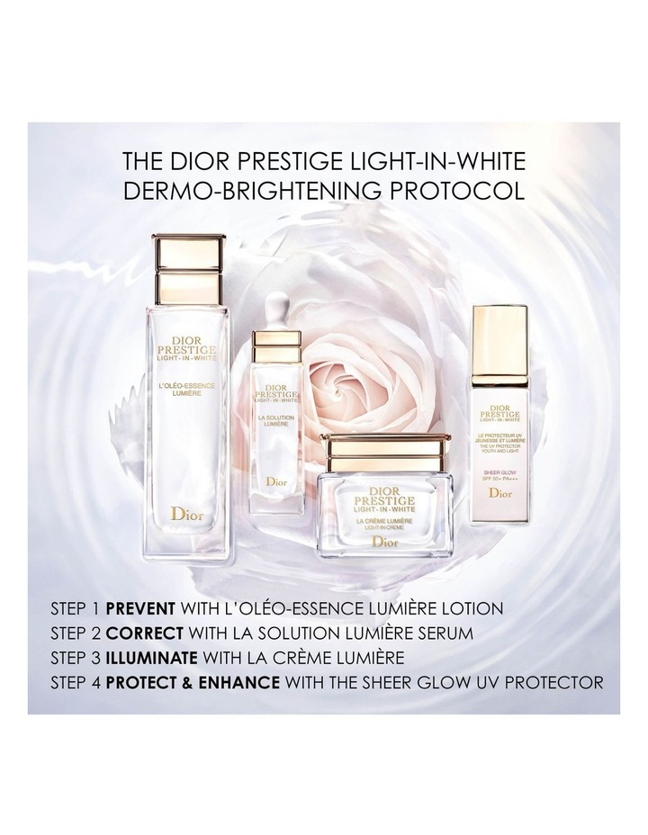 Dior Prestige Light-in-White The UV Protector Youth And Light - Sheer Glow SPF 50+ PA++ image 6