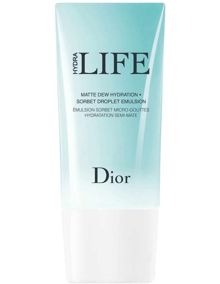 Dior Hydra Life Sorbet Droplet Emulsion - Matte Dew Hydration image 1