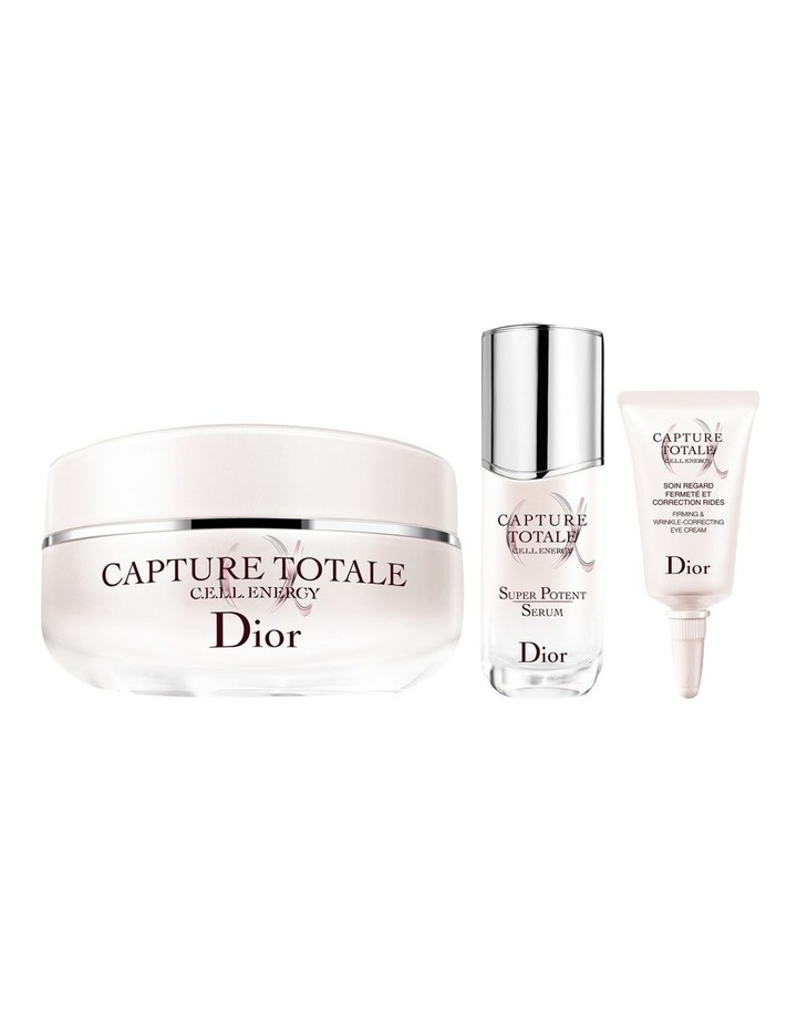 Capture Totale Exclusive Kit  Serum, Creme And Eye Cream  Firming And Wrinkle-Correcting image 2