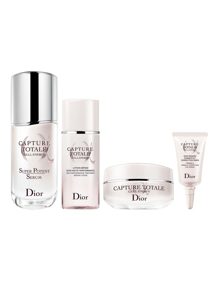 Capture Totale  Exclusive Kit - Serum-Lotion, Serum, Creme and Eye Cream - Firming and Wrinkle-Correcting image 2