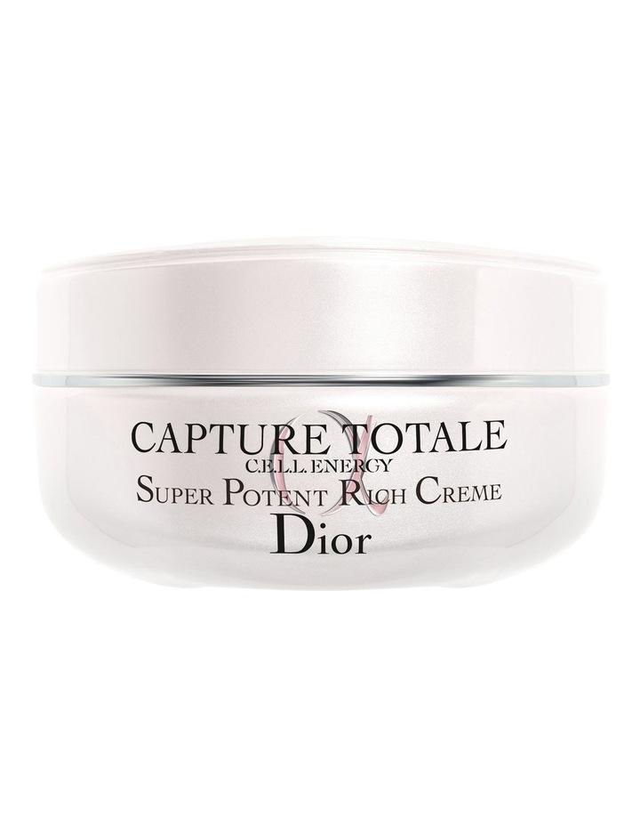 Capture Totale Super Potent Rich Creme Global Age-Defying Rich Creme - Intense Nourishment & Repair image 1