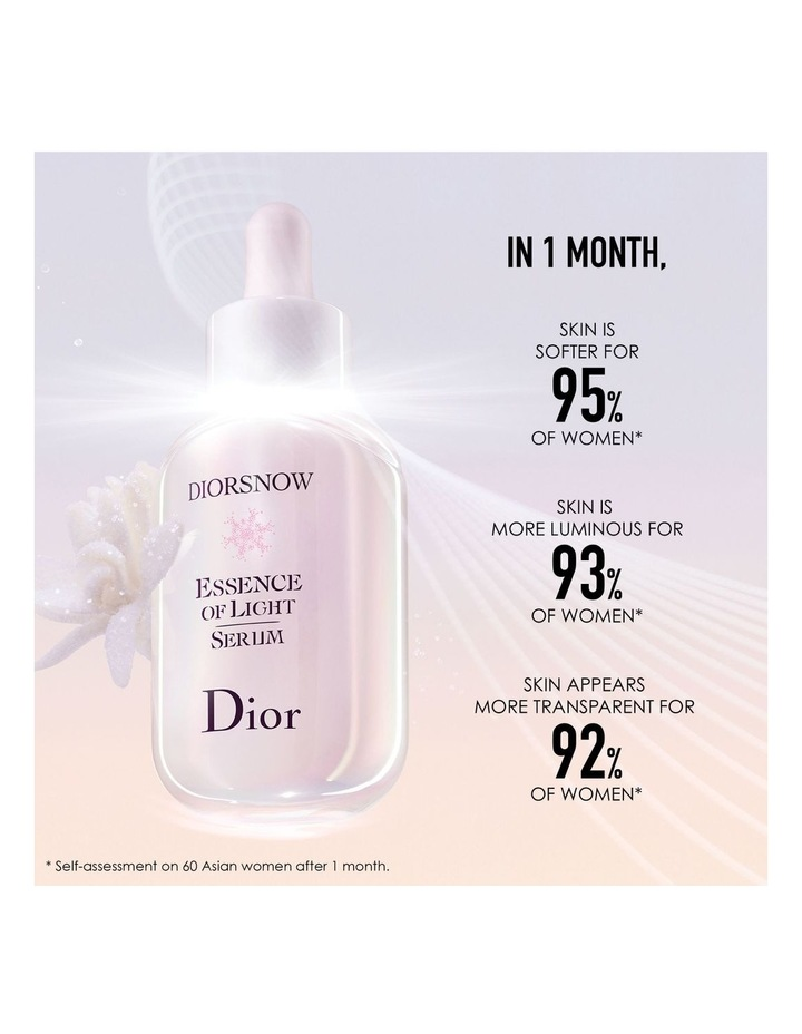 Diorsnow Essence of Light Serum Pure Concentrate of Light - Brightening Milk Serum image 4