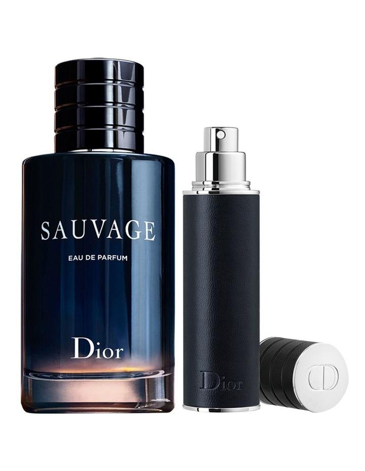 Sauvage Fragrance Set - Eau De Parfum & Travel Spray image 2