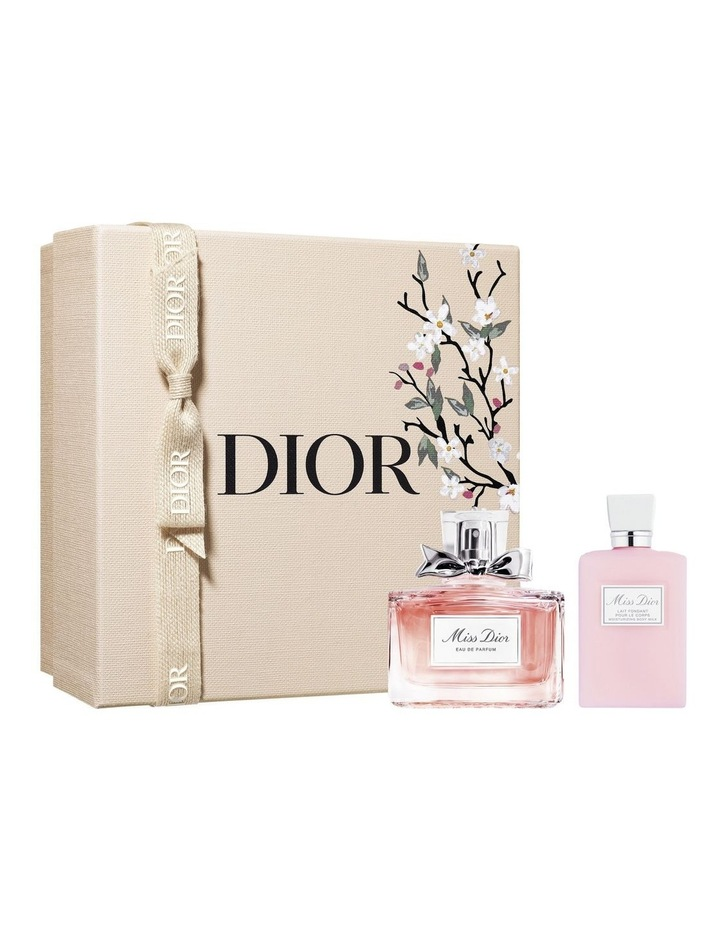 Miss Dior Fragrance Set - Eau de Parfum and Moisturizing Body Milk image 1