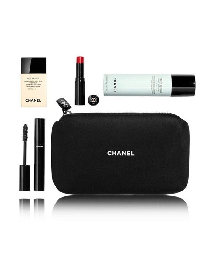 b0e3429e0605 CHANEL SET SPORT DE CHANEL Workout Beauty Routine EssentialsWorkout Beauty  Routine Essentials