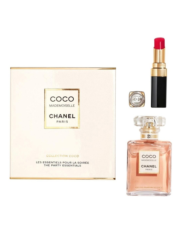Coco Mademoiselle Intense 35ml EDP & Rouge Coco Flash Cross Coffret image 2