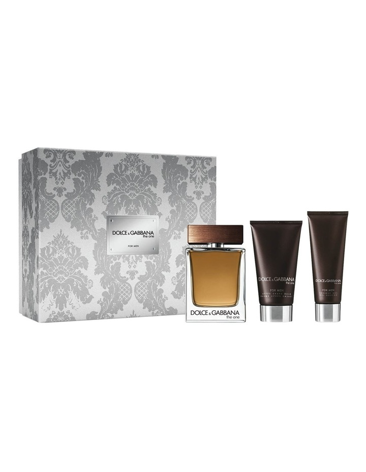 The One for Men Set (EDT 100ml   Shower Gel 50ml   After Shave Balm 75ml) image 1