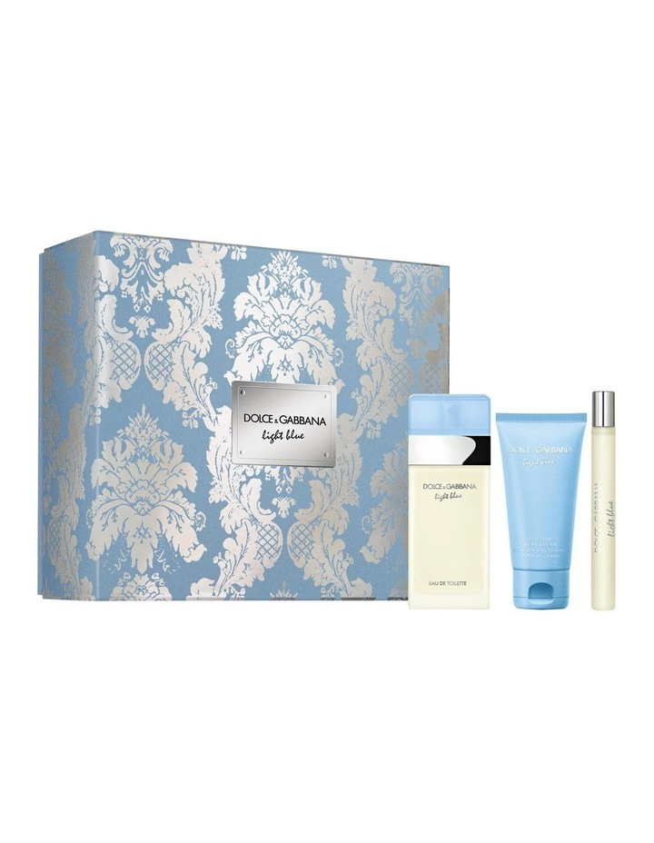 Light Blue SET (EDT 50ml   Body Cream 50ml   Travel Spray 10ml) image 1
