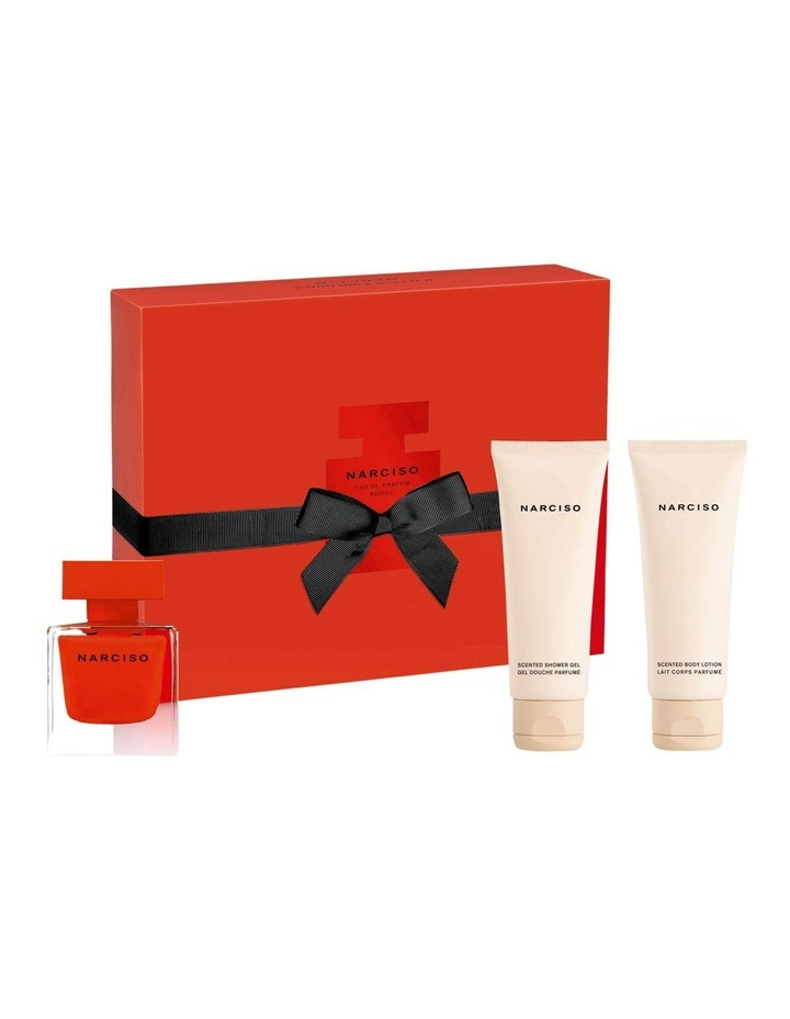 Narciso Rouge EDP Christmas Set (EDP 50ml   Body Lotion 75ml   Shower Gel 75ml) image 1
