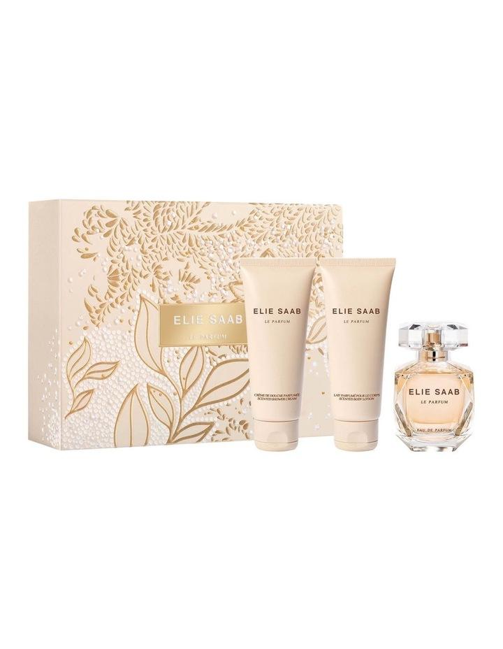 Elie Saab Le Parfum EDP Christmas Set (EDP 50ml   Body Lotion 75ml  Shower Cream 75ml) image 1