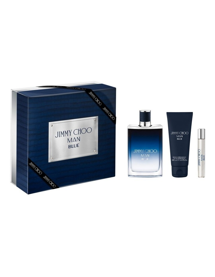 Man Blue EDT 100ml   EDT 7.5ml   Aftershave Balm 100ml image 1