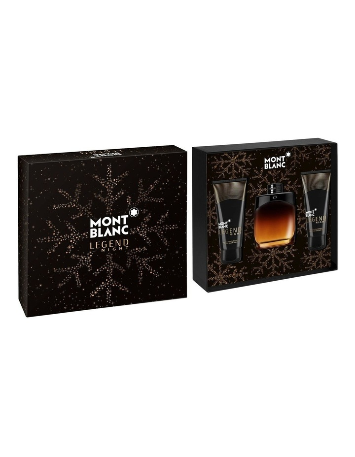 Legend Night EDP 100ml   Aftershave Balm 100ml   Shower Gel 100ml image 1