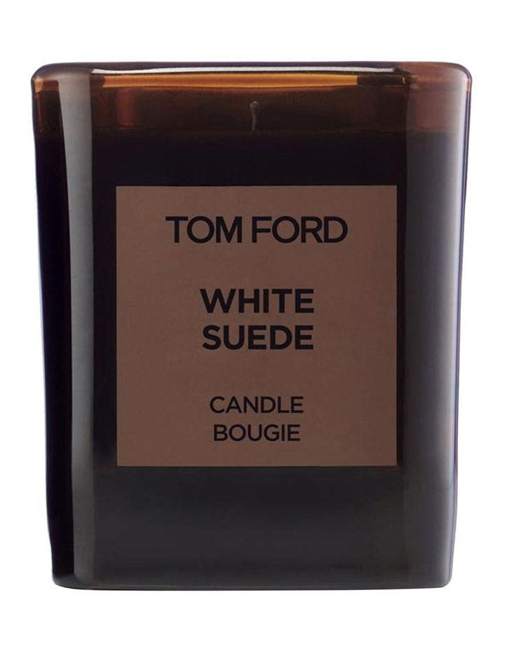 Private Blend White Suede Candle image 1