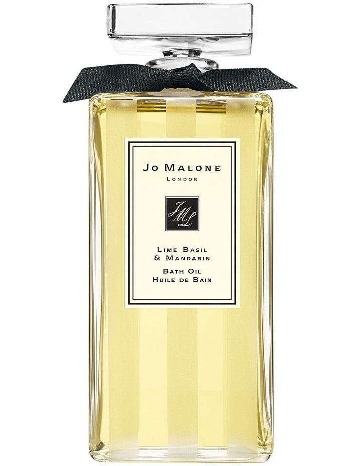 Lime Basil & Mandarin Bath Oil 200ml image 1
