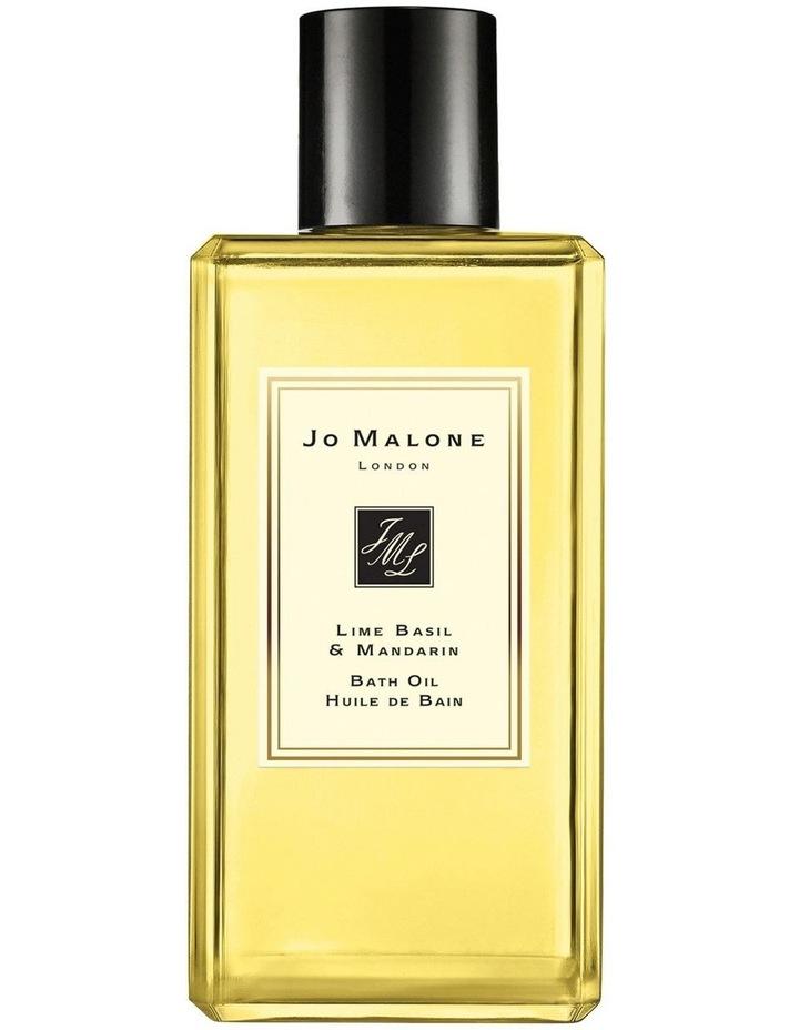 Lime Basil & Mandarin Bath Oil 250ml image 1