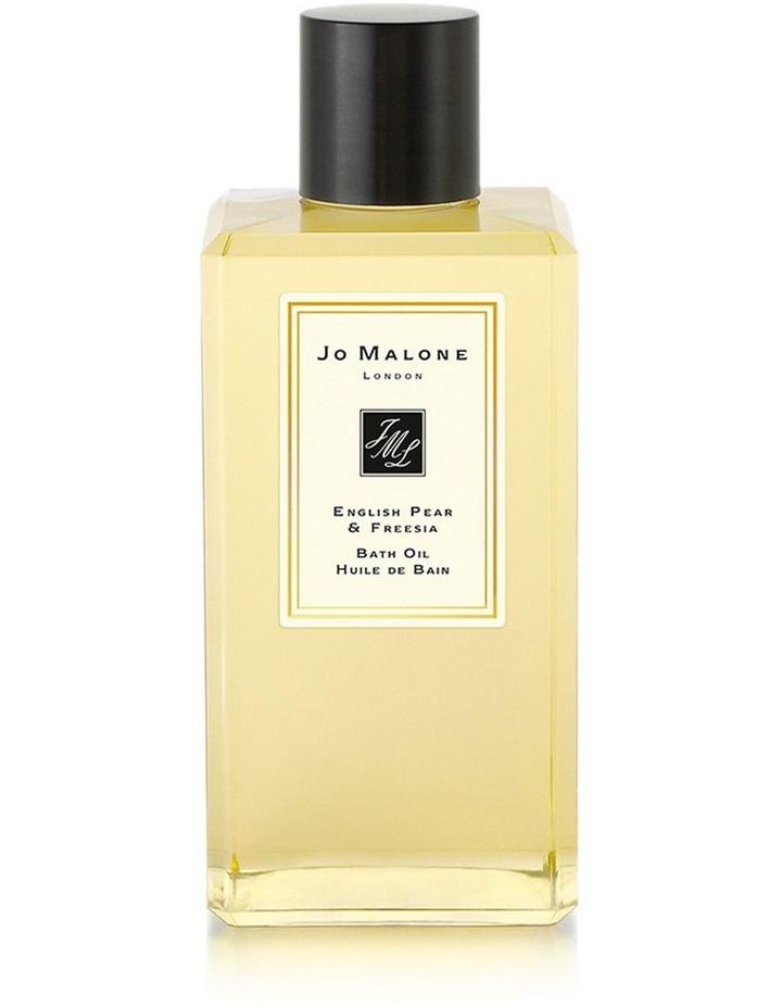 English Pear & Freesia Bath Oil 250ml image 1