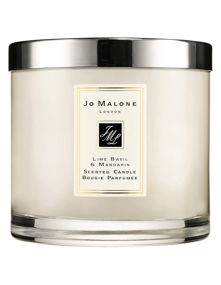 Lime Basil Mandarin Deluxe Candle image 1
