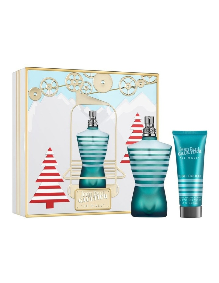 Le Male EDT 125ml and Shower Gel 75ml Gift Set image 1