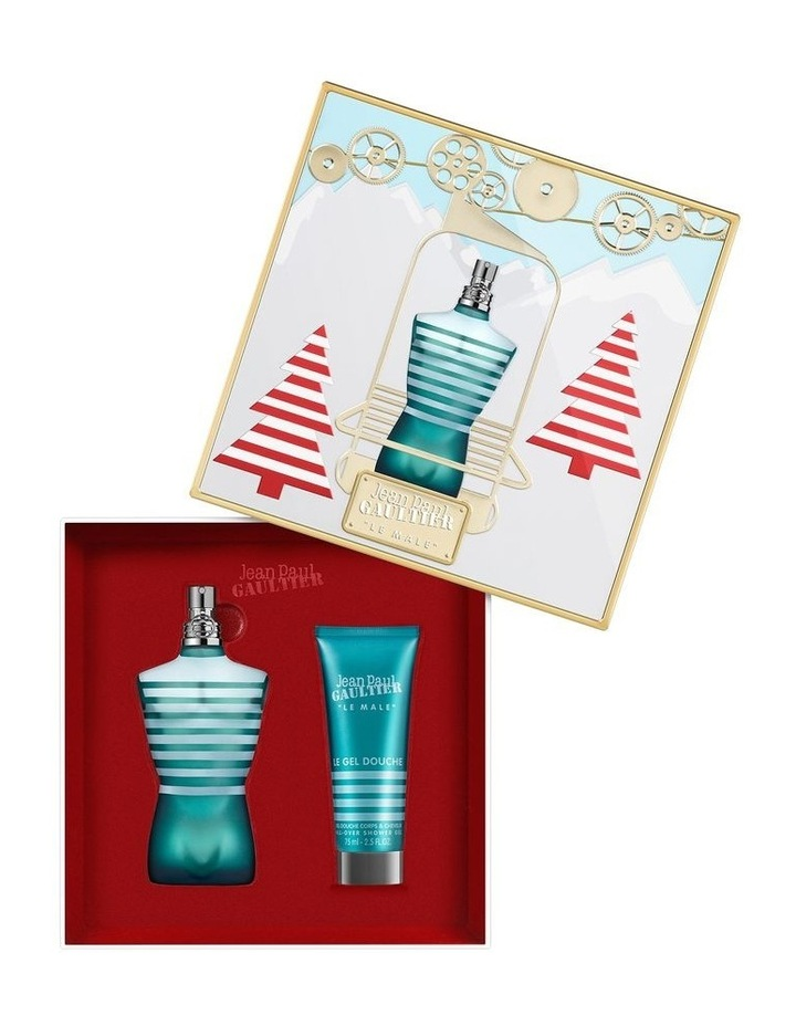 Le Male EDT 125ml and Shower Gel 75ml Gift Set image 2