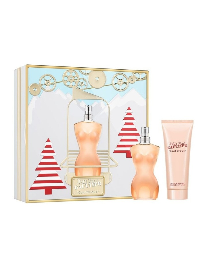 Classique EDT 50ml and Body Lotion 75ml Gift Set image 1