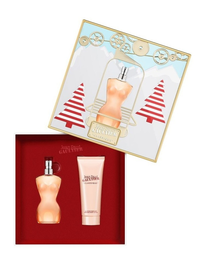 Classique EDT 50ml and Body Lotion 75ml Gift Set image 2