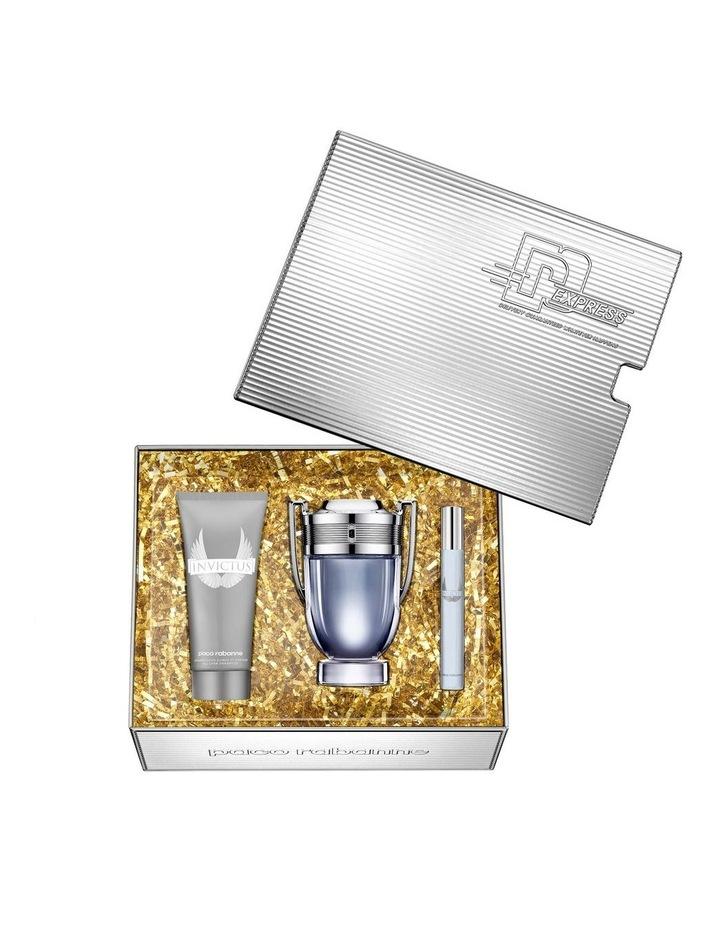 Invictus EDT 100ml, Shower Gel 100ml and Travel Spray 10ml Gift Set image 2