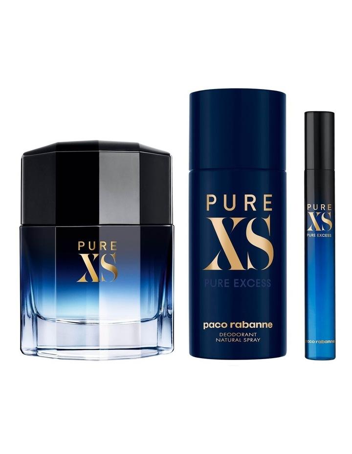 Pure XS EDT 100ml, Deodorant 150ml and Travel Spray 10ml Holiday Set image 3