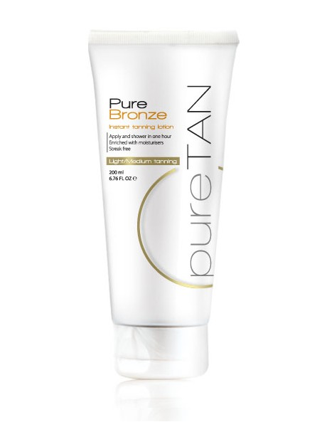 Pure Bronze Instant Tanning Lotion 200ml image 1