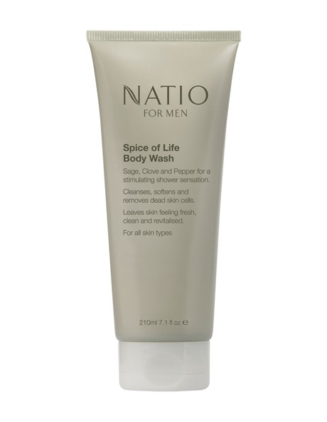 Natio for Men Spice of Life Body Wash image 1