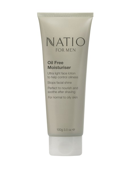 Natio for Men Oil Free Moisturiser image 1