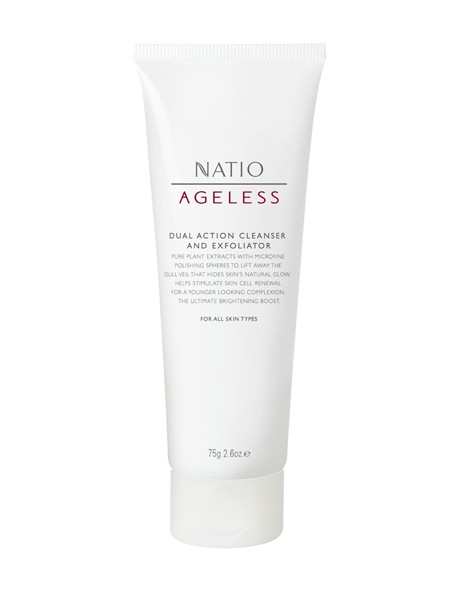 Ageless Dual Action Cleanser and Exfoliator image 1