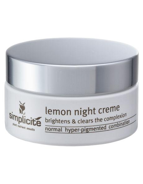 Lemon Night Creme  All Skin Types image 1