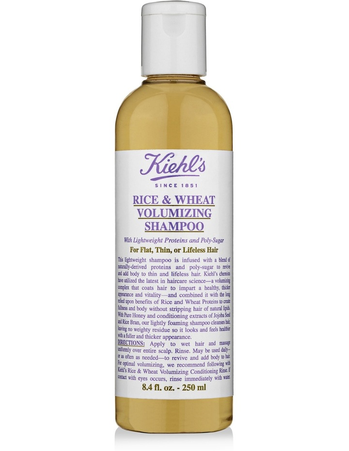 Rice & Wheat Volumizing Shampoo 250ml image 1
