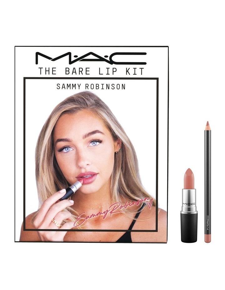 MAC x Sammy Robinson The Bare Lip Kit image 1