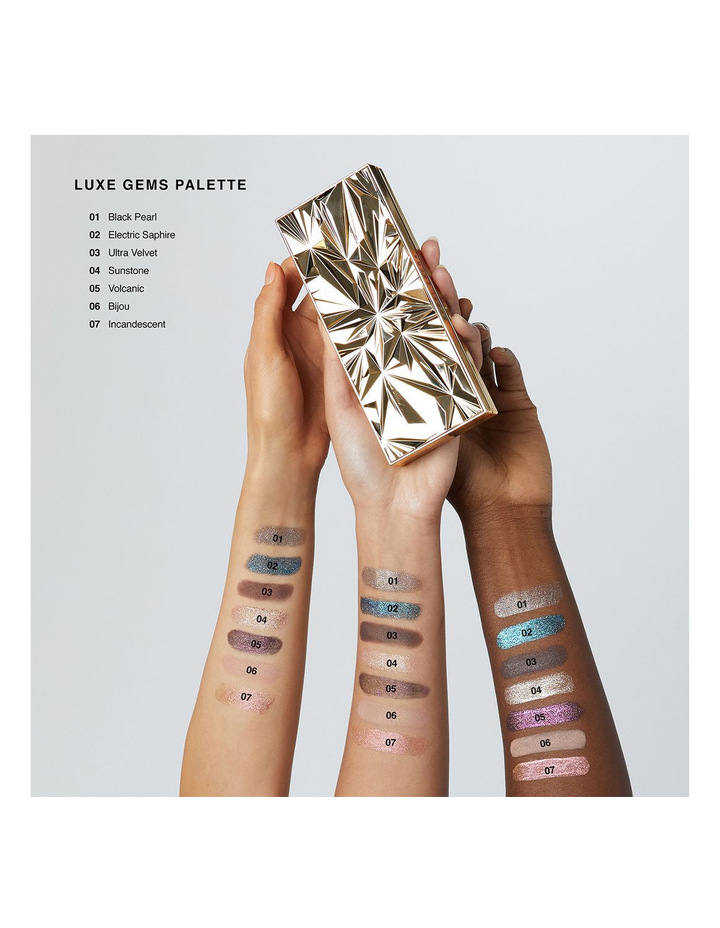Luxe Gems Eye Shadow Palette image 4